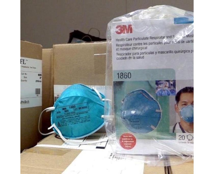 3M Respirator N95  1860 face mask (coronavirus N95 mask) - 1/1