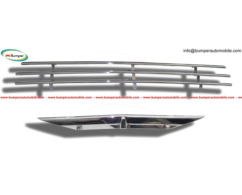 Saab 92 92B Grille (1949-1956) by stainless steel - 3/5