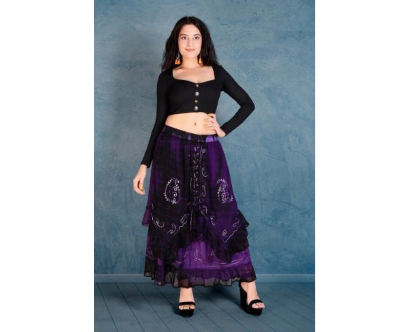 Shop Designer Tie-Dye Skirts Online at Jordash Clothing - 1/4