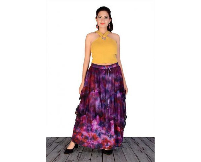 Shop Designer Tie-Dye Skirts Online at Jordash Clothing - 2/4