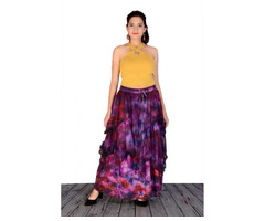 Shop Designer Tie-Dye Skirts Online at Jordash Clothing - Image 2/4