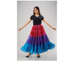 Shop Designer Tie-Dye Skirts Online at Jordash Clothing - Image 3/4