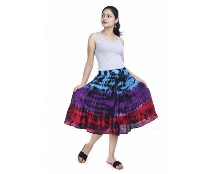 Shop Designer Tie-Dye Skirts Online at Jordash Clothing - 4/4