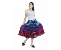 Shop Designer Tie-Dye Skirts Online at Jordash Clothing - Image 4/4