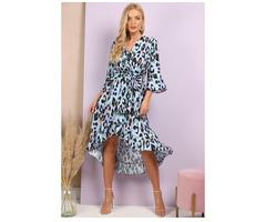 Shop Animal Print Maxi Dresses Online at Diva Boutiques - Image 1/3