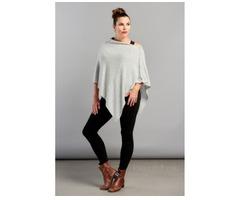 Buy Women's Cashmere Ponchos Online - Image 3/3