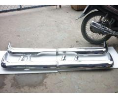 Opel Rekord P2 stainless steel bumpers