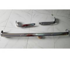 Ford Capri MK1 bumpers, stainless steel