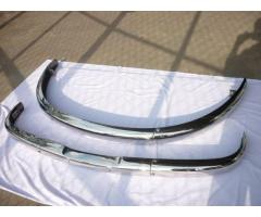 BMW 502 stainless steel bumpers
