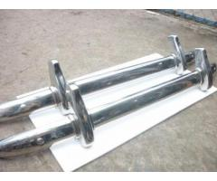MG TD stainless steel bumpers